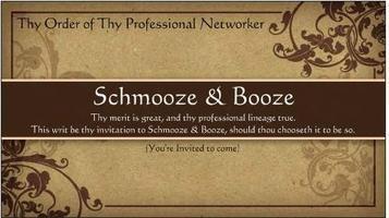 Schmooze & Booze | July