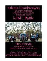 Atlanta Heartbreakers iPad3 Raffle