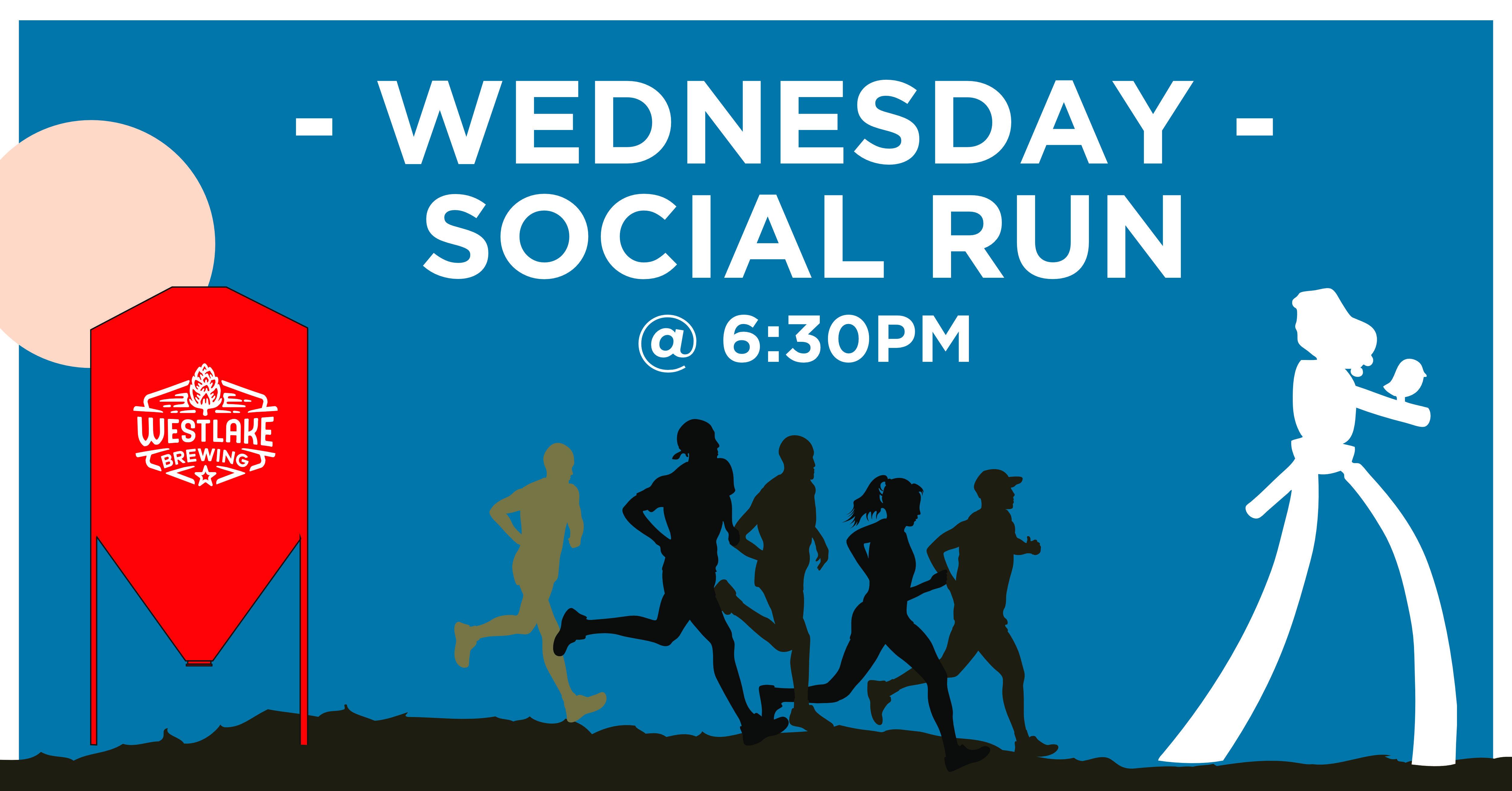 Wednesday Social Run @ Westlake Brewing Co., Deep Ellum