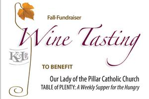 2nd Annual OLP Wine Tasting Fall Fundraiser