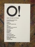 Talk for 'O! and other letters'
