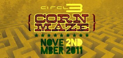 Circl3 Corn Maze - 2011