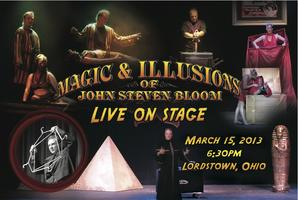 Lordstown PIE presents Magic & Illusions Of John...