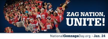 National Gonzaga Day Celebration and BYU Game Watch