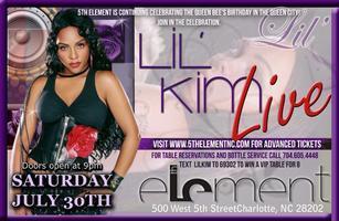5th Element Presents: Lil' Kim LIVE