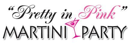 Pretty in Pink Martini Party