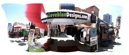 Lovebian at Oakland PRIDE 2011!
