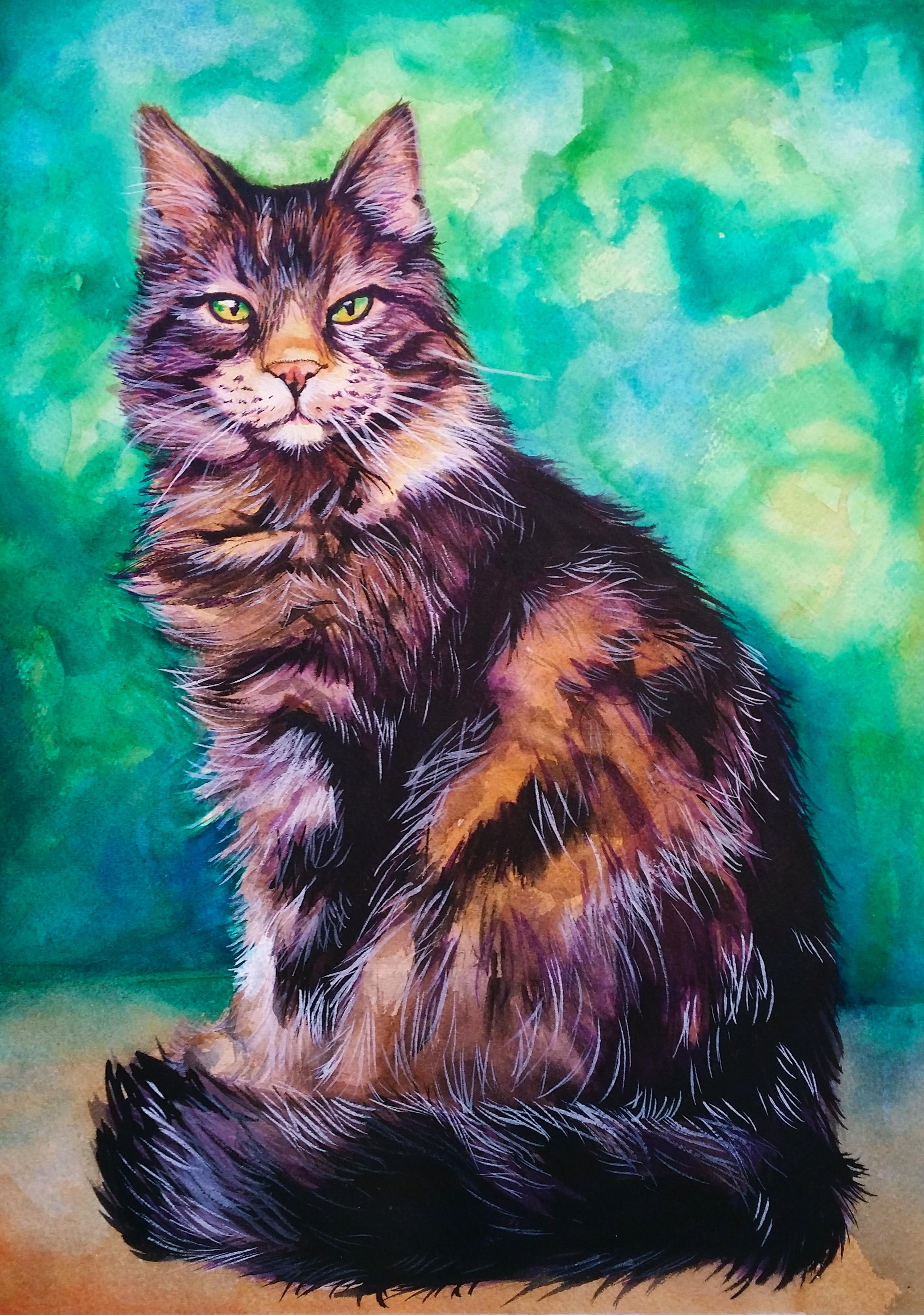 Watercolor Intermediate to Advanced July/August