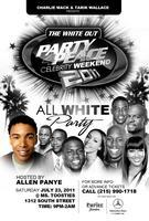 THE WHITE PARTY - CHARLIE MACK PARTY 4 PEACE WEEKEND