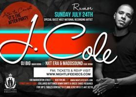 "J.COLE ""AFTER PARTY"" @ RUMOR"