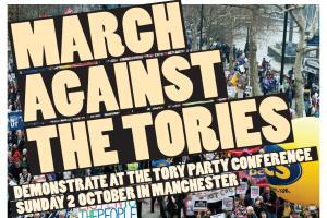 "York Coach to Manchester to ""March Against the Tories"""