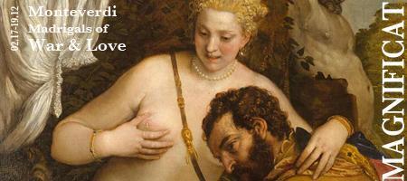 Monteverdi: Madrigals of War & Love - Palo Alto