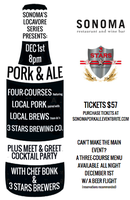 Sonoma's Locavore Series Presents: Pork & Ale Beer...