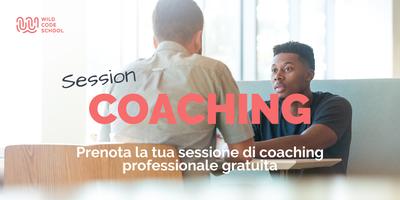 Sessione Coaching Professionale Gratuita - Settore Tech