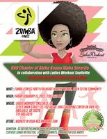 Pink Goes Red ZUMBA Fitness Party -- $5 donation!