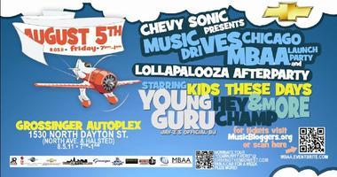 Chevy Sonic presents the Music DRIVES Chicago MBAA...