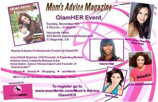 Mom's Advice GlamHER event