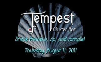 Tempest Oyster Bar Pre-Opening for Clean Lakes Alliance