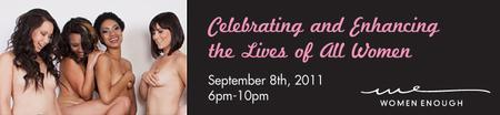 One Year Anniversary Fundraiser  for Women Enough...