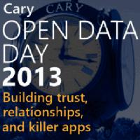 2013 International Open Data Day Hackathon - Cary, NC