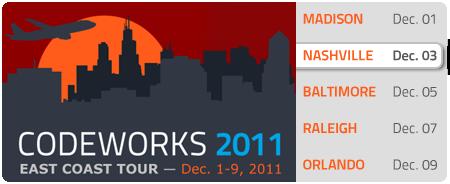 CodeWorks '11 - Nashville