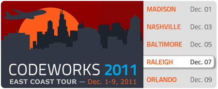CodeWorks '11 - Raleigh