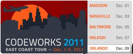 CodeWorks '11 - Orlando