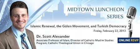 Midtown Luncheon Series with Dr. Scott Alexander...