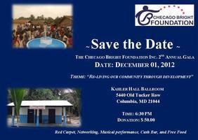 The Checago Bright Foundation, Inc Proudly Invites You...