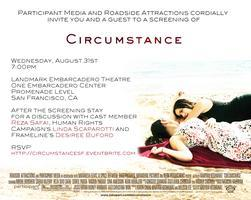 CIRCUMSTANCE Advance Screening - San Francisco