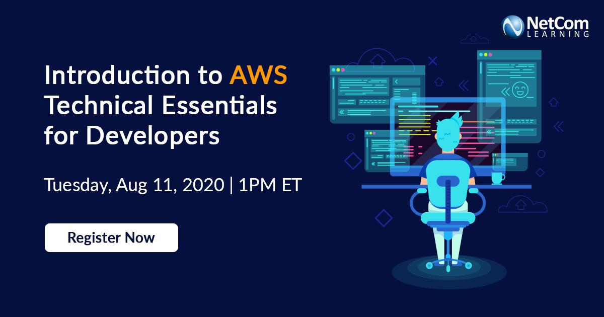 Webinar - Introduction to AWS Technical Essentials for Developers
