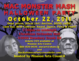 HALLOWEEN PARTY, MAC MONSTER MASH