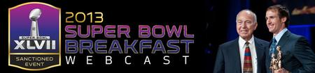 Men's Super Bowl Breakfast and Webcast!