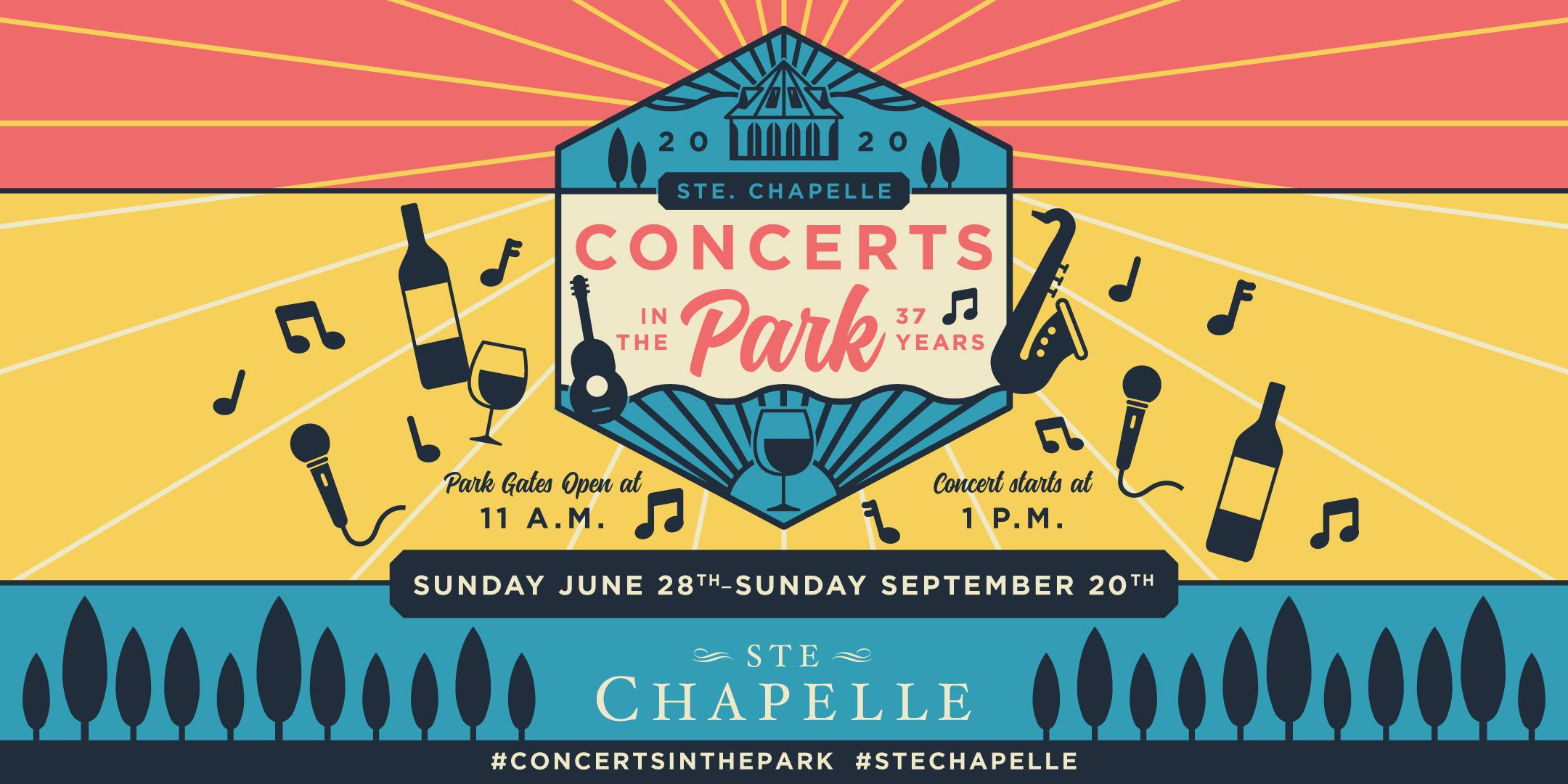 Concerts In The Park at Ste. Chapelle