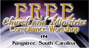 FREE Compliance Workshop for Churches & Ministries