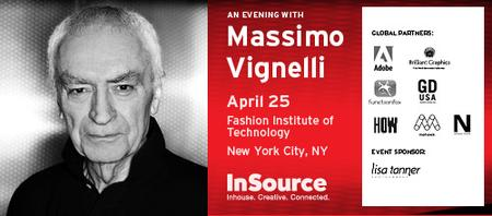 An Evening with Massimo Vignelli