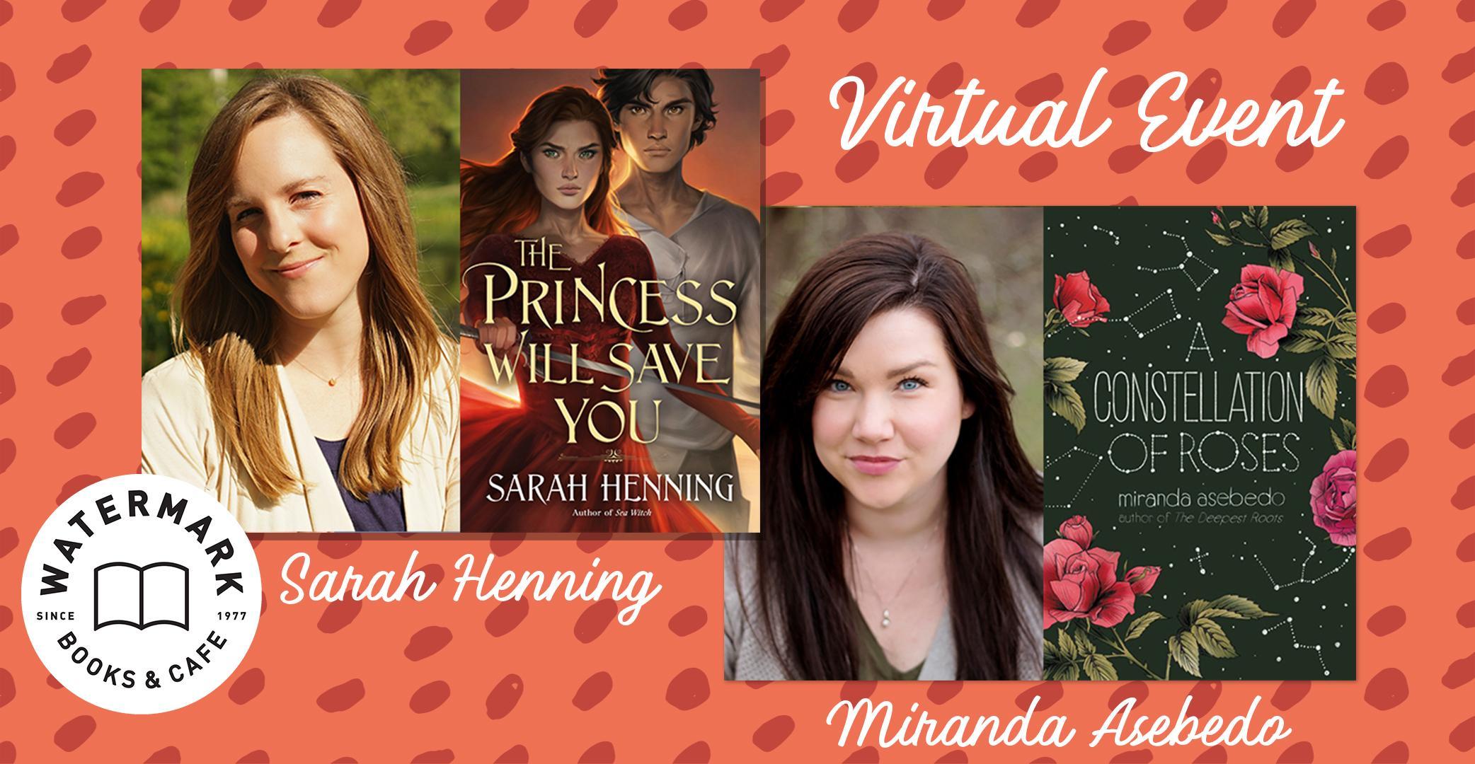 Sarah Henning & Miranda Asebedo Virtual Author Event!