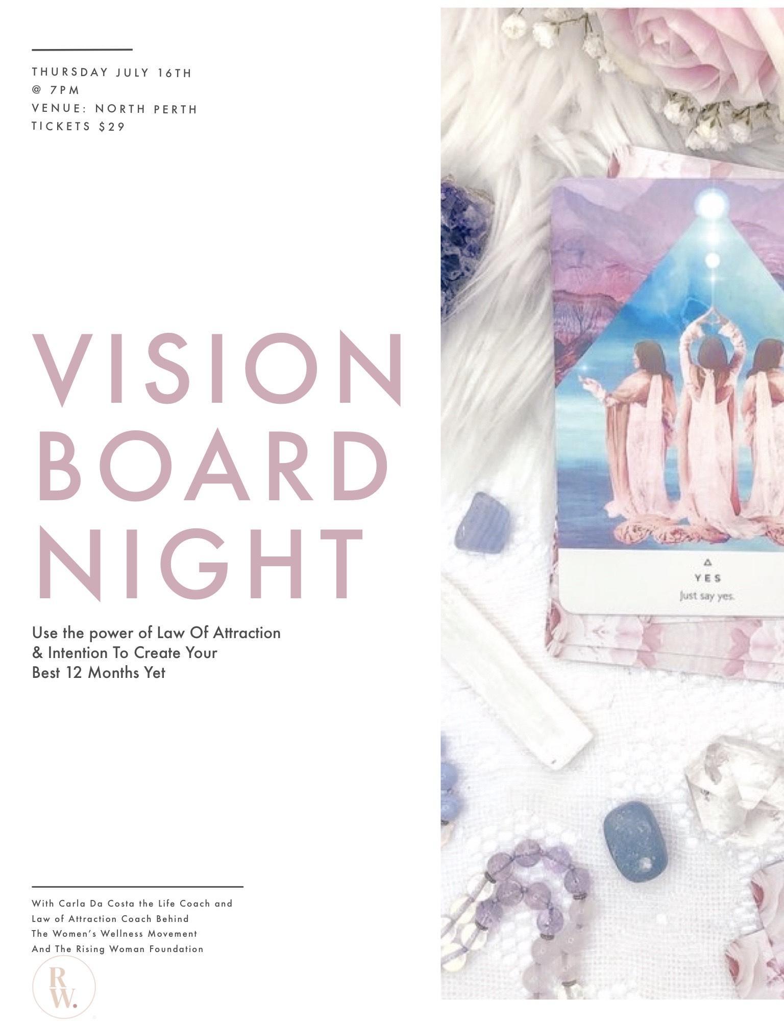 Vision Boarding Night