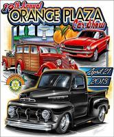 19th Annual Orange Plaza Car Show