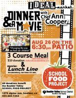 Dinner and a Movie with Chef Ann Cooper