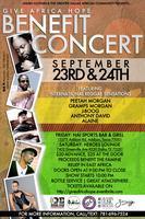 GIVE AFRICA HOPE Benefit Concert ||      PEETAH MORGAN...