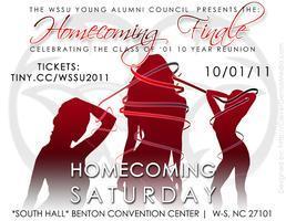 WSSU Young Alumni Council 2011 Homecoming Finale