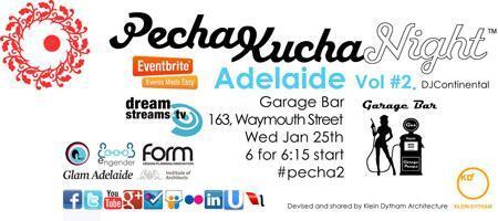 PechaKucha Night - Adelaide Vol#2.