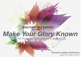 Partners in Harvest: European Leaders Conference -...