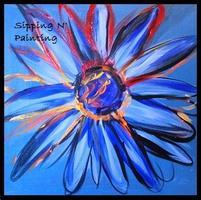 Sip N' Paint Pop Daisy Saturday April 27th, 7:30pm