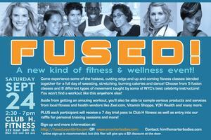 FUSED!!! A New Fusion Fitness/Wellness Event