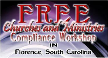 FREE Compliance Workshop for Churches and Ministries