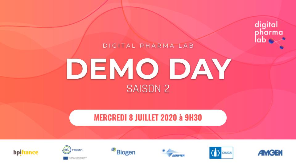 Digital Pharma Lab - Saison 2 : DEMO DAY