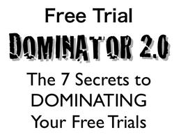 Free Trial Dominator 2.0 (Online Seminar)