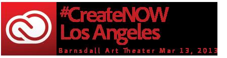 CreateNOW Los Angeles 2013